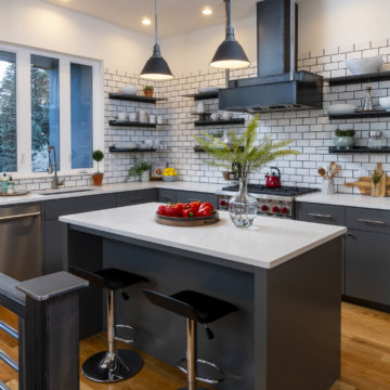 custom designed Portland craftsman kitchen